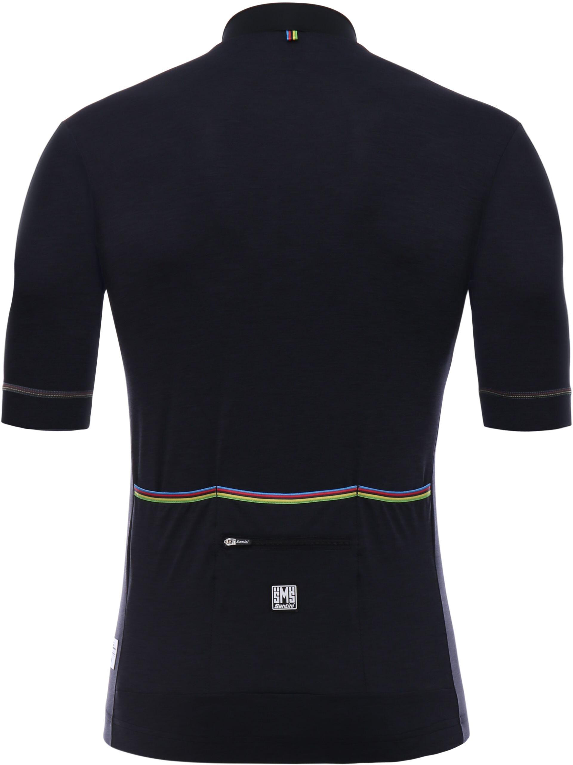 Santini UCI Short Sleeve Jersey Men black at Addnature.co.uk 668f26834